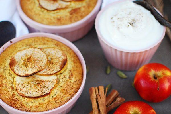 Äppelkaka till frukost