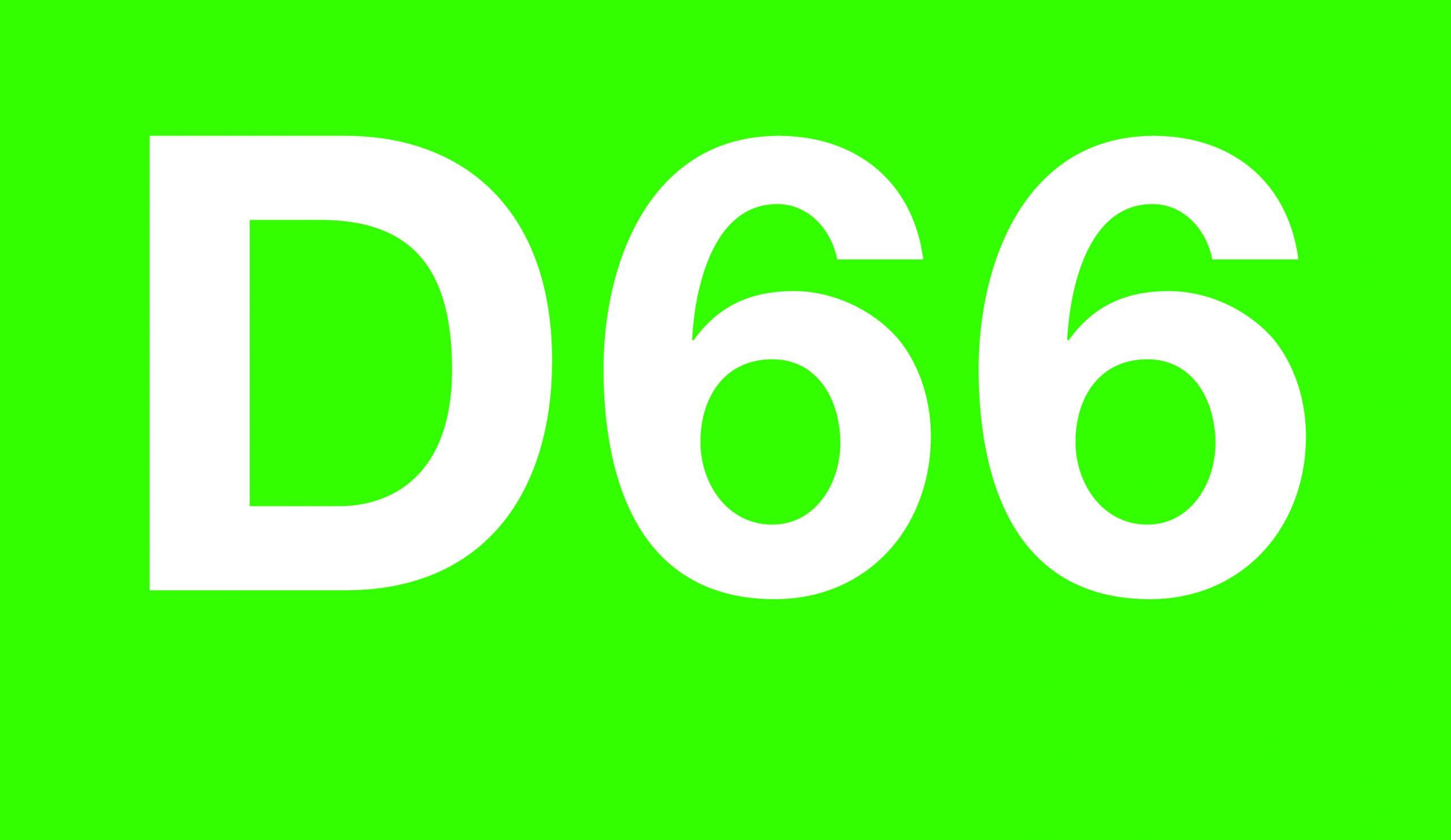 Logo D66 Zaanstad