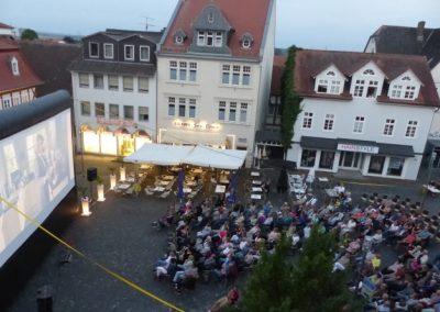 Open-Air-Kino am Marktplatz