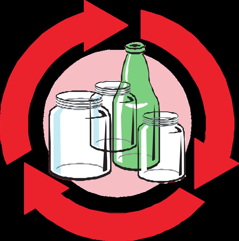 genbrug og genanvendelse af flasker