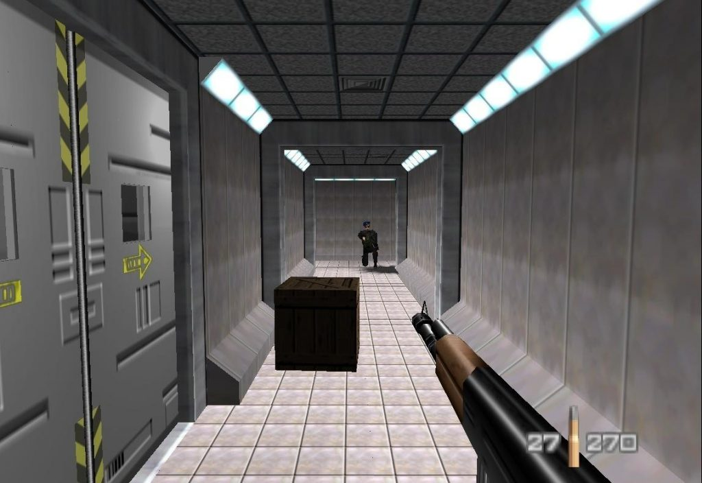 Proyecto para la promoción de un hotel, Ejemplo de un juego estilo Doom