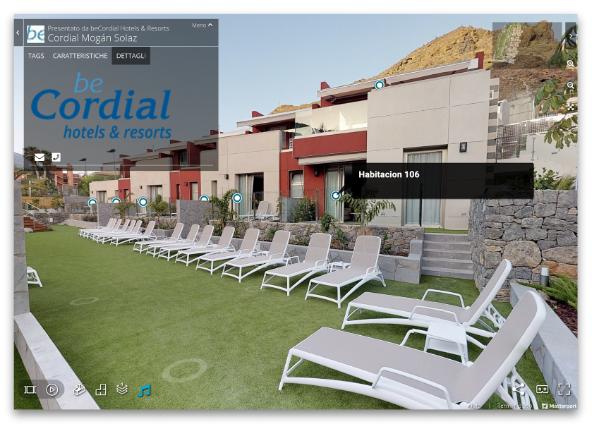 Proyecto para la promoción de un hotel, inclusión en la web