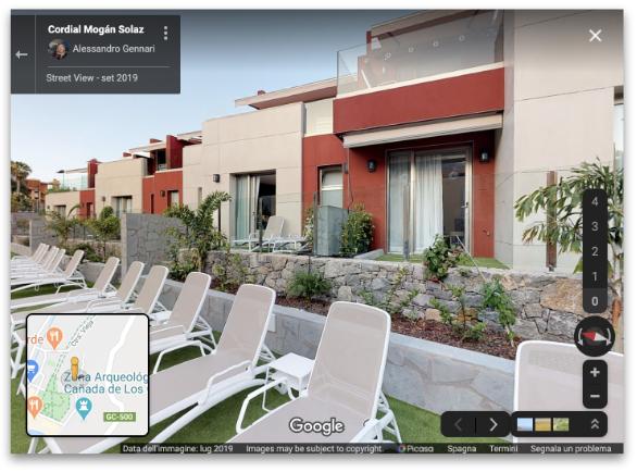 Proyecto para la promoción de un hotel, inclusión en Google Maps