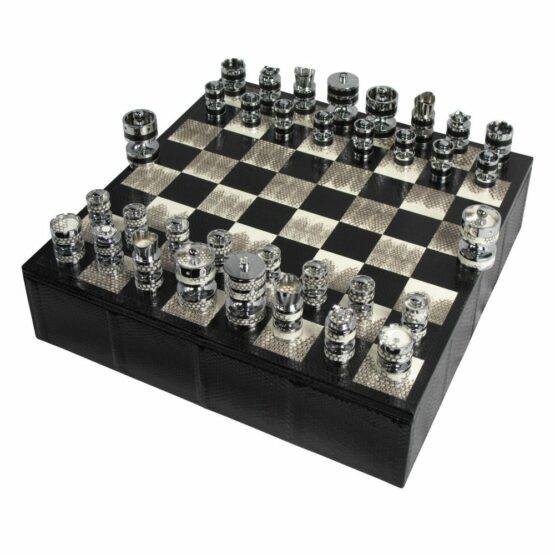 Luxury Chess set   Watersnake Chess Set   Geoffrey Parker Chess Set