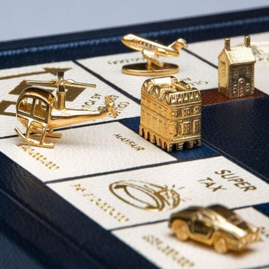 Custom monopoly | Millionaire Monopoly | Custom Monopoly | Luxury Backgammon | Luxury Games | Geoffrey Parker