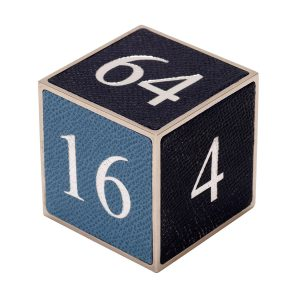 Doubling Cube | Luxury Backgammon | Custom backgammon | Backgammon Board | Backgammon Set | Geoffrey Parker Luxury Games