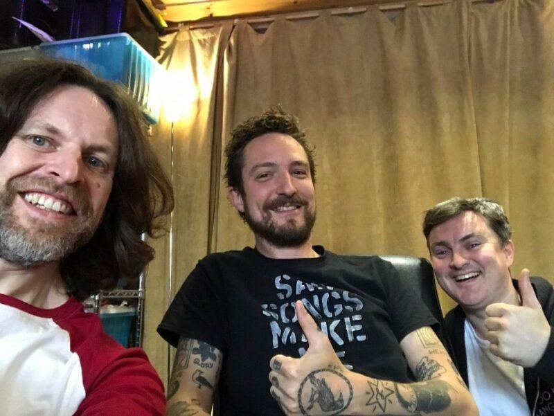 L-R, GS, Frank, Ben Morse (guitarist)