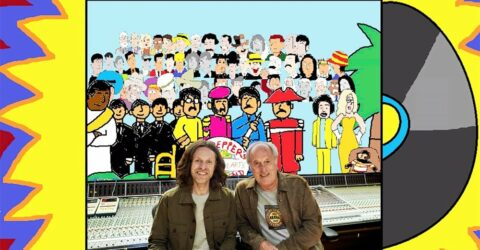 John Leckie and George Shilling –the cartoon! How I got animated at Abbey Road with RecordProduction.com…