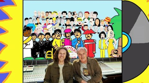 John Leckie and George Shilling – the cartoon! How I got animated at Abbey Road with RecordProduction.com…