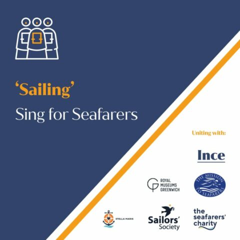 """Singing For Seafarers –Producing the """"Sailing"""" charity single and more"""