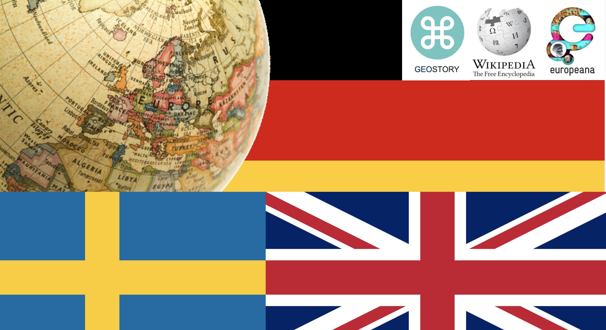 GeoStory – Europe