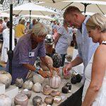 Keramikmarked på Museum Jorn