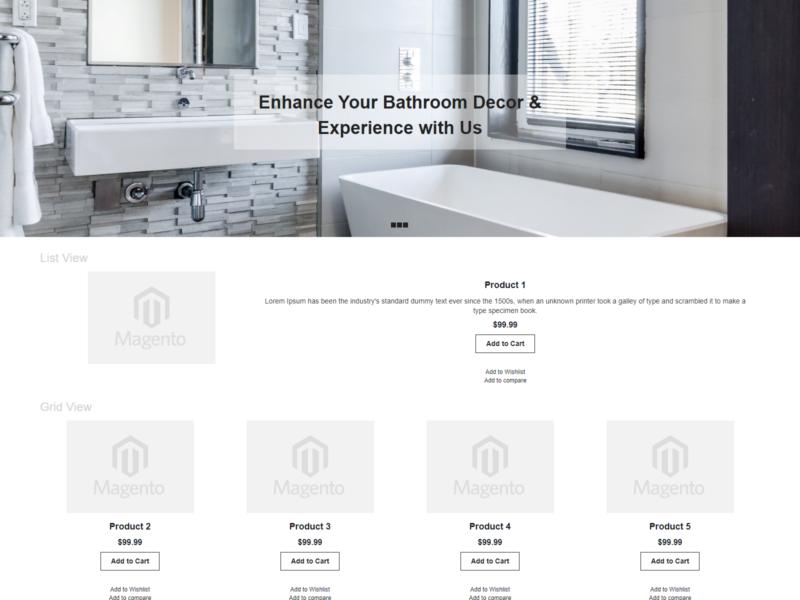 Bathly Magento Webshop Theme