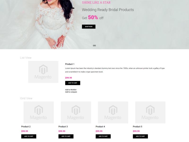 Beauty Store Magento Webshop Theme