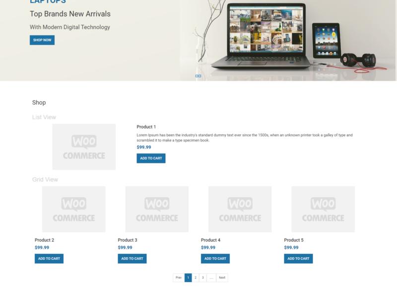 EZone Store WooCommerce Webshop Theme