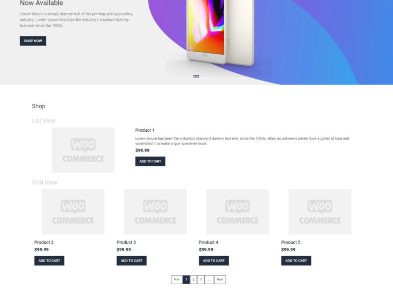 Gadget Shop WooCommerce Webshop Theme