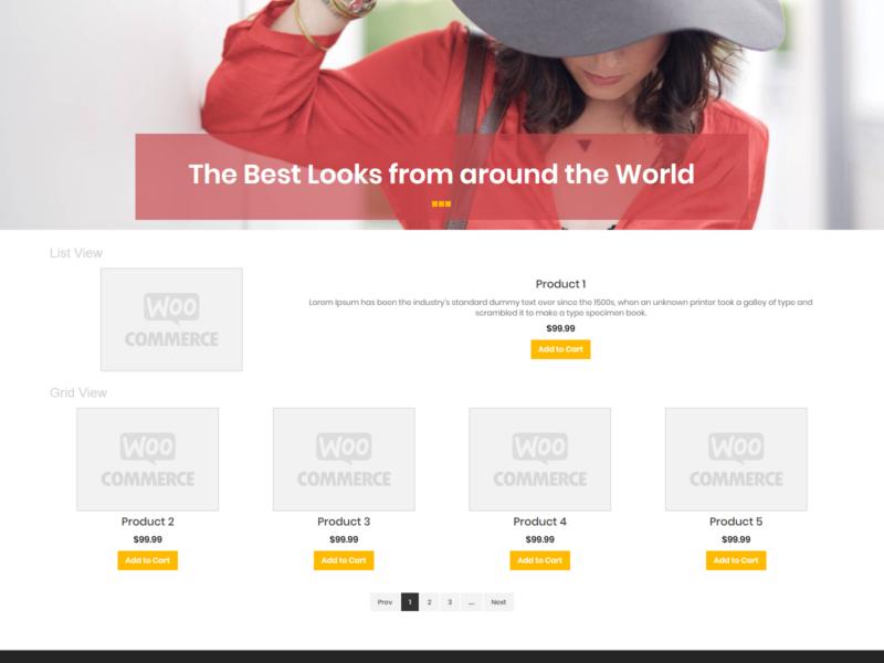 Lee Fashion WooCommerce Webshop Theme