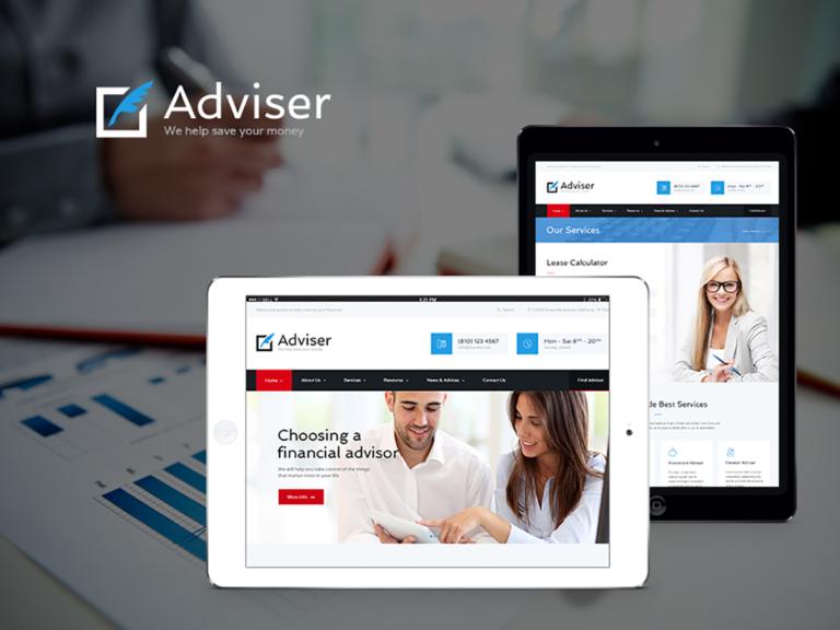 Finanzberater & Versicherungsberater Website