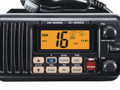 ICOM VHF radio set
