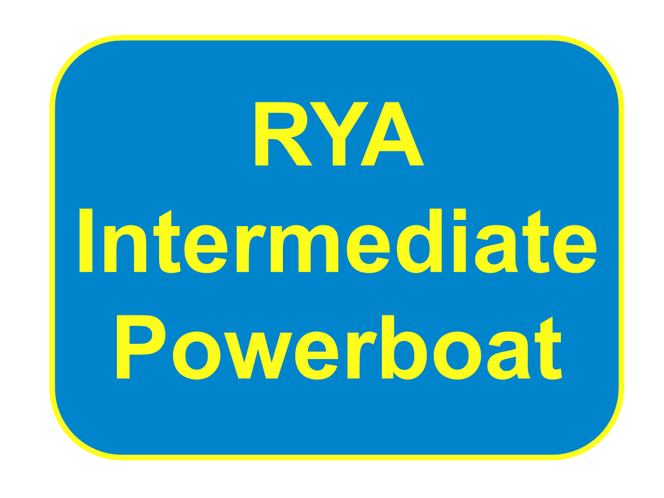 RYA Intermediate Powerboat