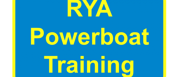 RYA Powerboat Training