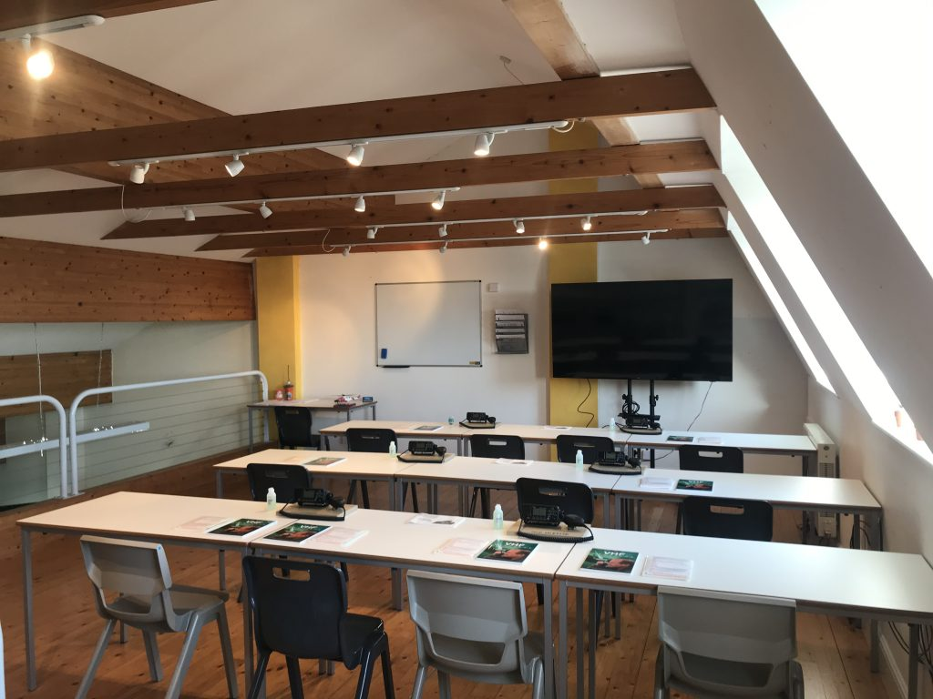 VHF Radio Course Classroom