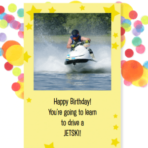 RYA PWC / Jetski Course Birthday Gift Voucher