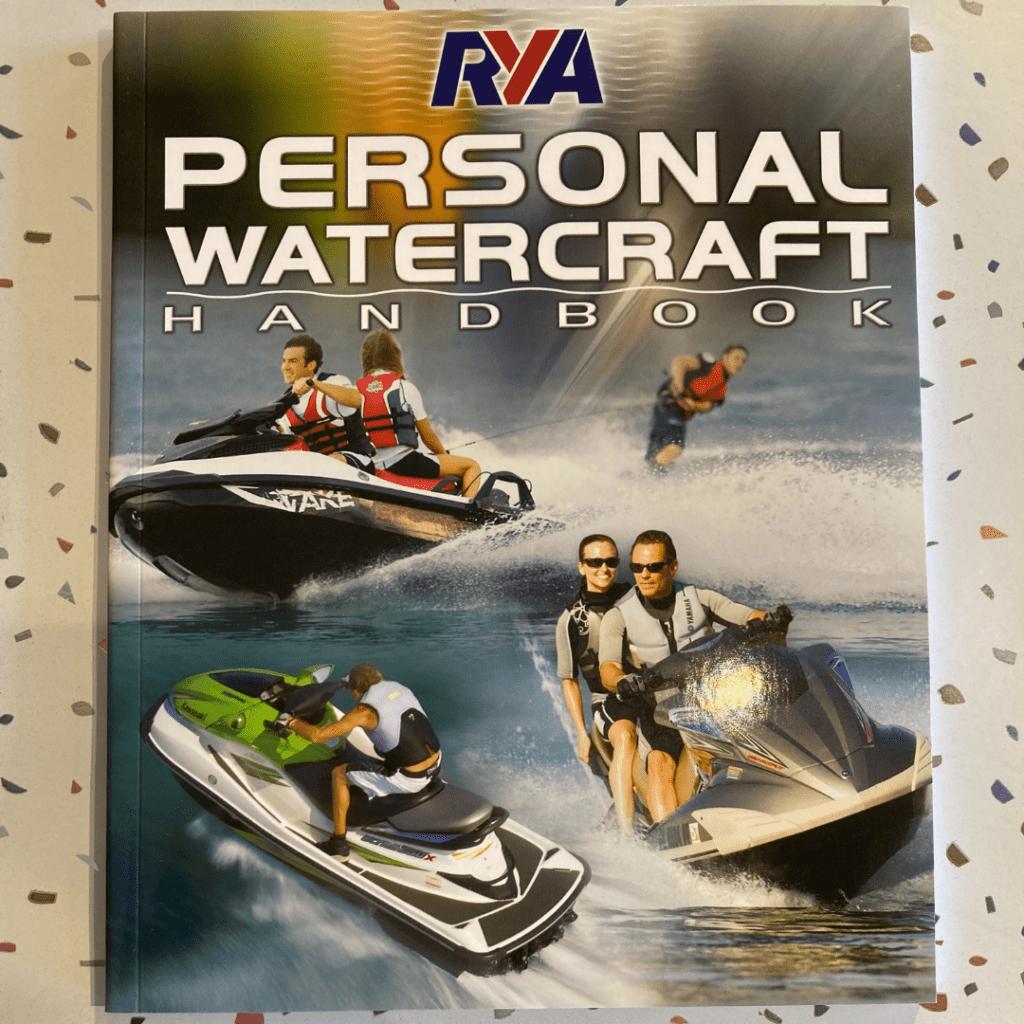 RYA Personal Watercraft Book