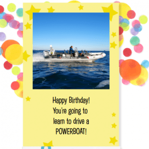 RYA Powerboat Level 2 Birthday Gift Voucher