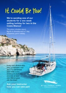 Win a sailing holiday in Alicante