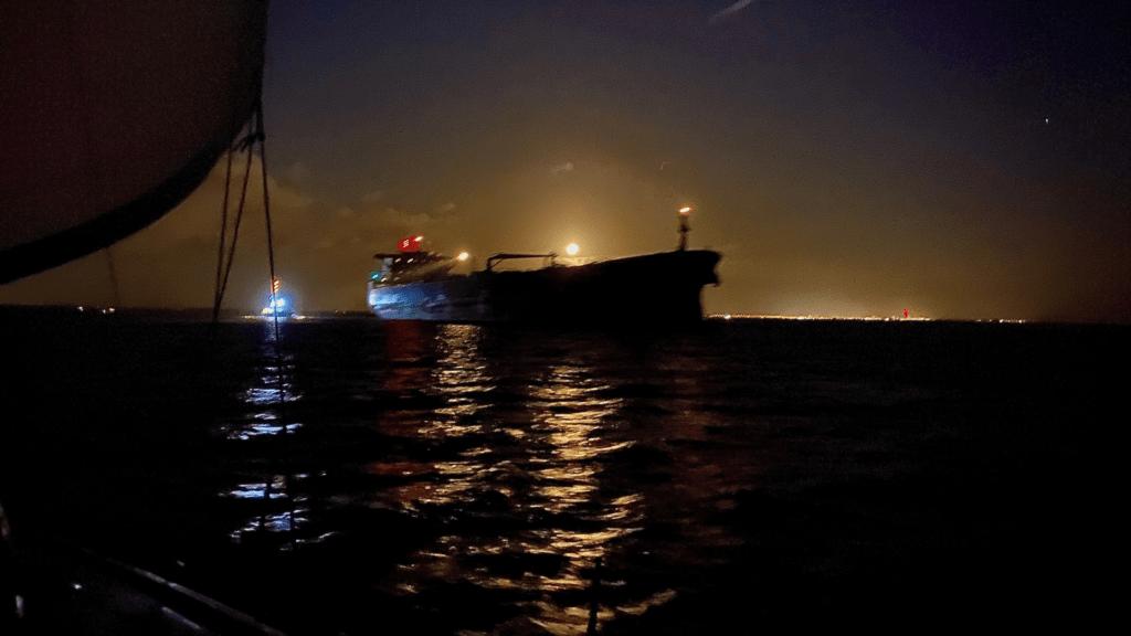 First night passage