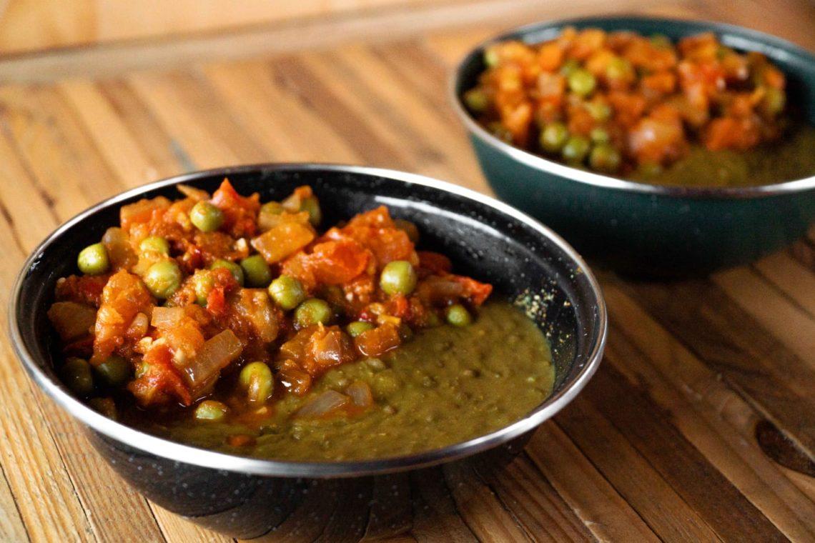 Dahl met kruidige tomaten-curry
