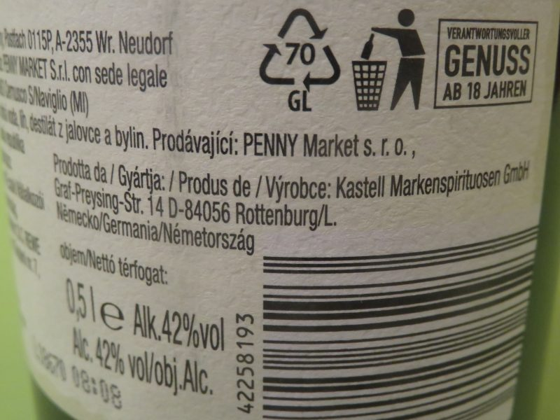 42 orsons Gin Penny Markt