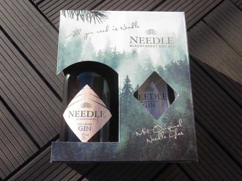 Needle Gin Set mit Glas