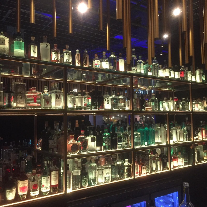 House of Gins Berlin im Hotel Palace