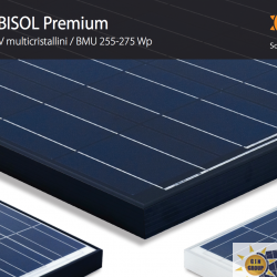 ipo di modulo Potenza BISOL BMU-255 Premium 255 Wp BISOL BMU-260 Premium 260 Wp BISOL BMU-265 Premium 265 Wp BISOL BMU-270 Premium 270 Wp BISOL BMU-275 Premium 275 Wp
