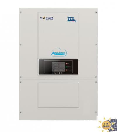 Inverter Azzurro Trifase 10000TL - 20000TL Gli inverter della gamma ZCS Azzurro Trifase costituiscono la migliore soluzione per impianti fotovoltaici di media taglia per applicazione commerciale o industriale. Grazie alla tecnologia italiana targata ZCS, gli inverter della serie Azzurro sono ecienti, versatili e performanti. Disponibili in taglie da 10 a 20kw, presentano un range di ingresso molto ampio, risultano facili da congurare e si adattano ad ogni tipo di esigenza sia su nuovi impianti, sia in retrot su impianti esistenti.