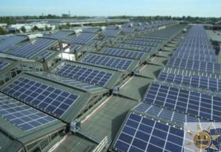 Sul tetto del mercato ortofrutticolo di Bologna un impianto da 450 kW
