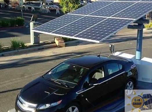 Parcheggio fotovoltaico residenziale