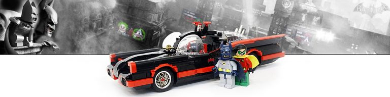 LEGO Batmobile Serie TV 1966