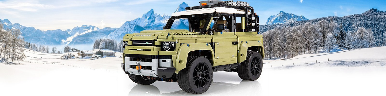 LEGO Technic Land Rover Defender 42110