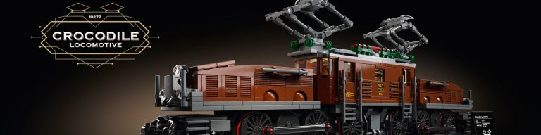 LEGO Crocodile Locomotive 10277