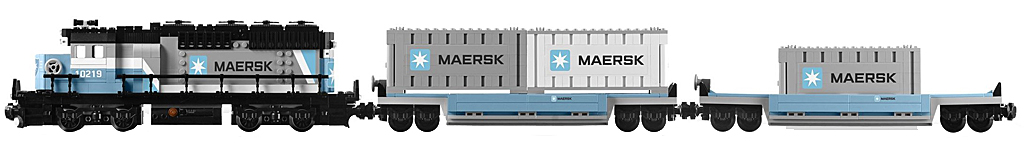 LEGO Maersk Train 10219