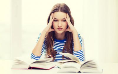 Alt for mange unge piger er stressede