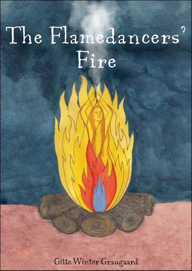book title childrens meditations The Flamedancers' fire