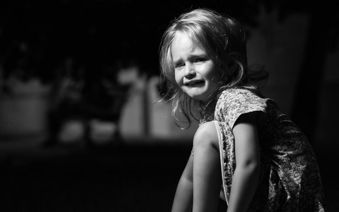 Første skoledag: Hun græder for alle de andre…