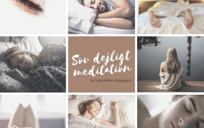 Fald i søvn med meditation