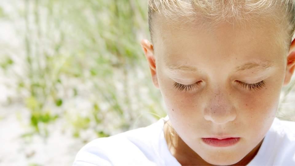 Naturen kan rense dit barns sind