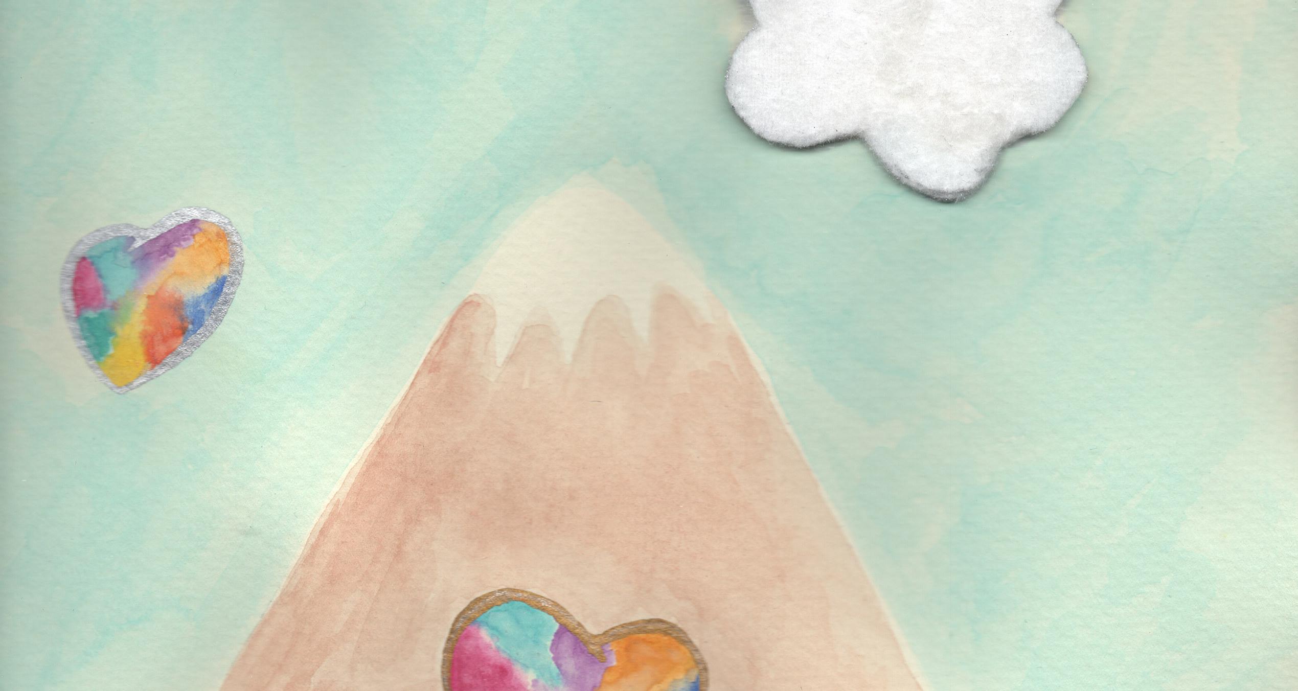 kærlighedsbjerget gør mig hverdagslykkelig