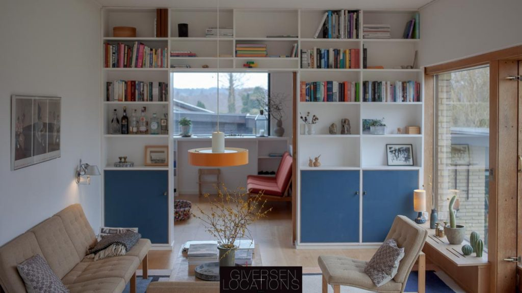 Indbygget real og danske arkitekttegnede møbler